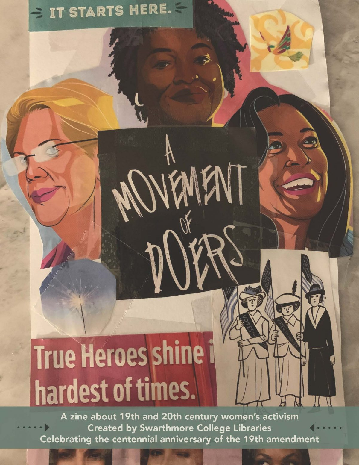 Swarthmore releases zine on 19th/20th century women activists